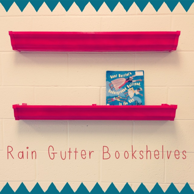 65-page FREEBIE And Rain Gutter Bookshelves